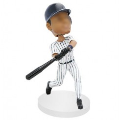 persnoalized baseball hitter bobblehead doll