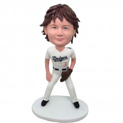 personalised baseball child player bobblehead