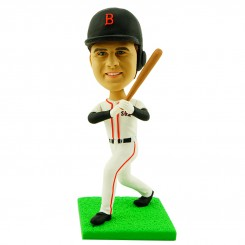 personalised baseball player bobblehead doll