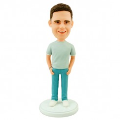 personalised casual bobblehead