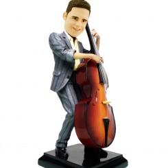 personalised cellist bobblehead