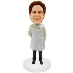 personalised cook bobblehead doll