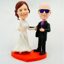 personalised dancing couple bobbleheads