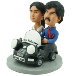 personalised mini couple bobbleheads