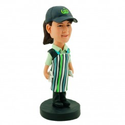 personalised shop assistant bobblehead