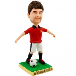 personalised soccer player bobblehead