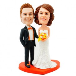 personalised wedding bobblehead