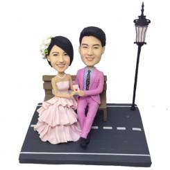 personalised wedding bobbleheads