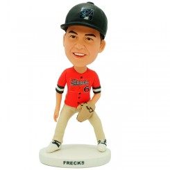 personalized baseball bobblehead