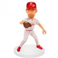personalized baseball bobblehead get ready for passing