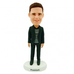 personalized casual man bobblehead