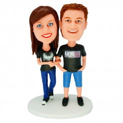 personalized couple bobblehead dolls