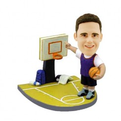 personalized custom basketball bobblehead dolls _HE