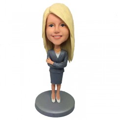 personalized female teacher bobblehead