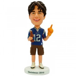 personalized football fans bobblehead
