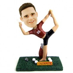 personalized golf boys bobblehead