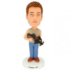 personalized hawkeye bobblehead
