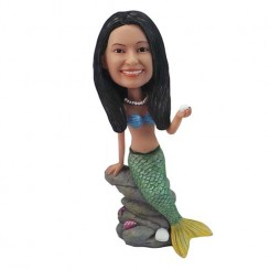 personalized mermaid bobblehead