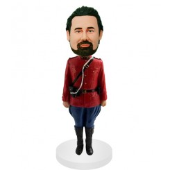 personalized military personnel bobbleheads