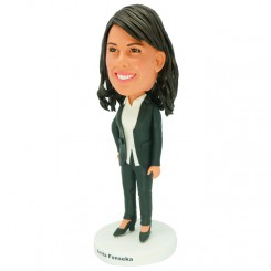 personalized offce lady bobblehead