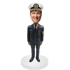 personalized police officer bobblehead