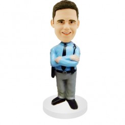 personalized policeman bobbleheads