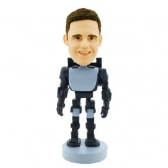 personalized robot bobblehead