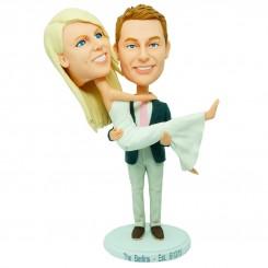 personalized wedding theme bobblehead