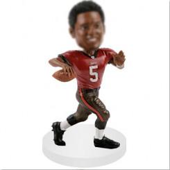 quarterbacks football bobblehead personalized doll
