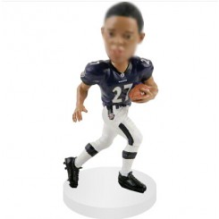 running backs personalised football bobble head