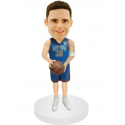 set shot cusomized basketball bobblehead