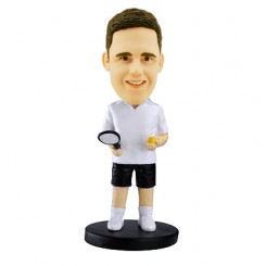 tennis personalized bobblehead