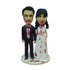 terror wedding bobbleheads
