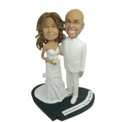 white dress custom bobbleheads