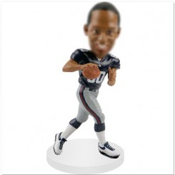 wide receiver customized bobblehead