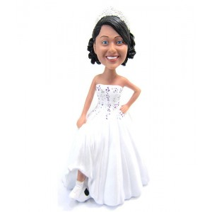 customized bridesmaid bobble heads