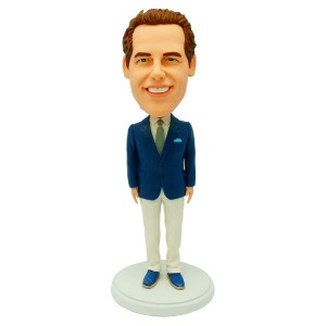 customized groomsmen bobble heads