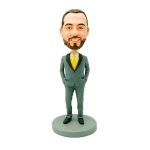 customized groomsmen bobblehead