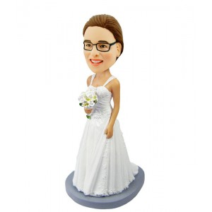 personalised bridesmaid bobblehead