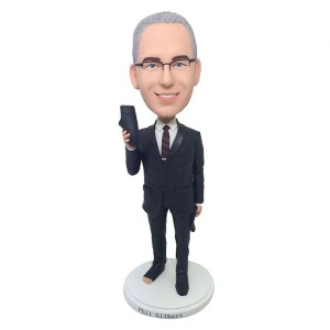personalized funny boss bobblehead