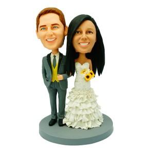 personalized weddingke topper