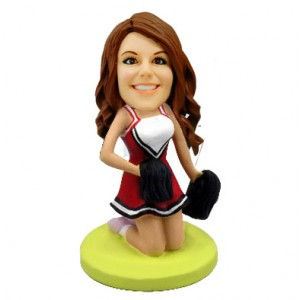 cheerleader customized bobblehead