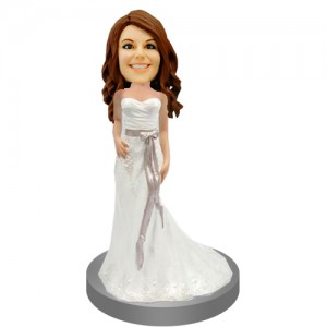 custom bridesmaids weddingke topper