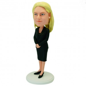 custom office lady bbblehead