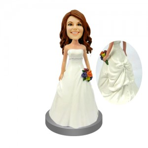 customised bridesmaids bobbleheads