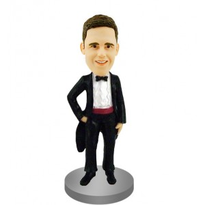 customised groomsmen bobblehead