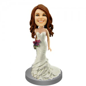customized bridesmaids bobble head