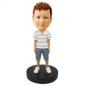 customized casual body bobblehead