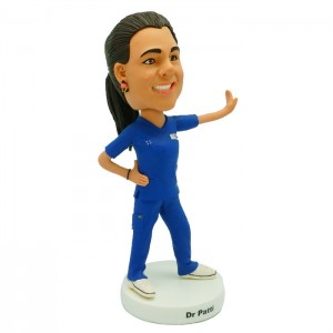 customized dancing doctor bobblehead
