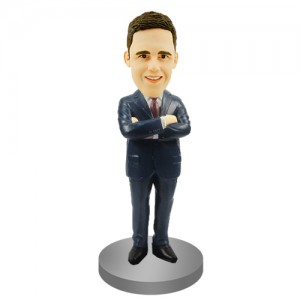 personalised groomsmen bobble head